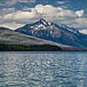 Mcdonald Lake Super Panorama Poster
