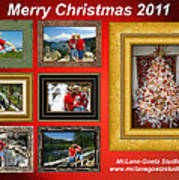 Mclanegoetz Studio Christmas Card Poster