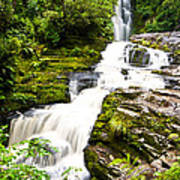 Mclean Falls In The Catlins Poster