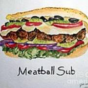 Meatball Sub Poster