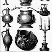 Medieval Utensils Poster