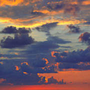 Mediterranean Sky Poster