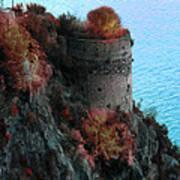 Mediterranean Turret Poster