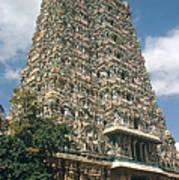 Meenakshi Temple Poster