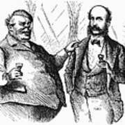 Men Drinking, 1872 Poster