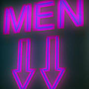 Men Poster by Richard Piper