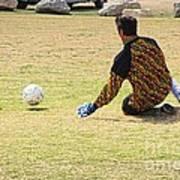 Men Soccer Action 1 Poster