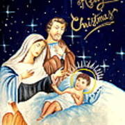 Merry Christmas Poster by Tanmay Singh