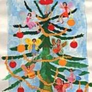 Merry Christmas Tree Fairies In Progress Poster