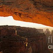 Mesa Arch First Light Poster