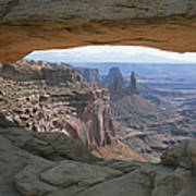 Mesa Arch In Utahs Canyonlands National Poster