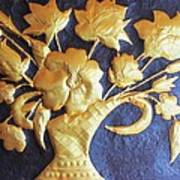 Metal Flowers Poster