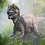 Metriacanthosaurus Poster