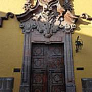 Mexican Door 28 Poster