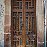Mexican Door 54 Poster