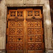 Mexican Door 67 Poster