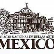 Architecture. Mexico City - Palace Of Fine Art Poster