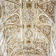 Mezquita Cathedral Ceiling Poster