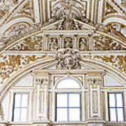 Mezquita Cathedral Renaissance Ornamentation Poster