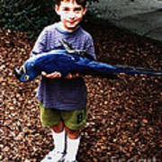 Michael And The Blue Macaw Poster