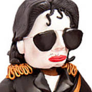 Michael Jackson Poster by Louisa Houchen