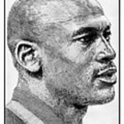 Michael Jordan In 1990 Poster by J McCombie