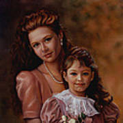 Michaela And Alexandra Poster