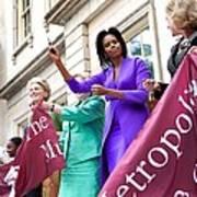 Michelle Obama Cuts The Ribbon Poster