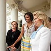 Michelle Obama Hosts First Lady Poster