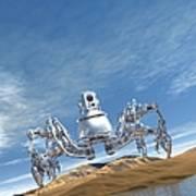 Microrobot, Conceptual Artwork Poster