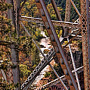 Midgley Bridge Oak Creek Canyon Poster