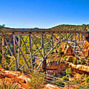 Midgley Bridge Sedona Arizona Poster