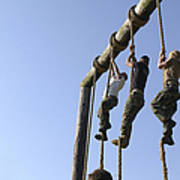 Midshipmen Tackle The Ropes Portion Poster