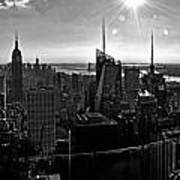 Midtown South Bw Poster