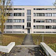 Mies Van Der Rohe Building Stuttgart Weissenhof Poster