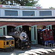 Mike Watson St. Turnhouse - Traintown Sonoma California - 5d19249 Poster