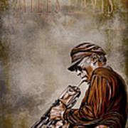 Miles Davis Poster by Andrzej Szczerski