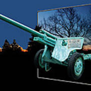 Military Artillery Piece Poster