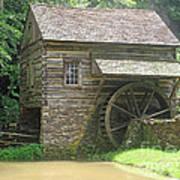 Mill At Cuttalossa Farm Poster
