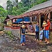 Minahasa Traditional Home 3 Poster