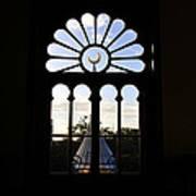 Minaret Through Window Poster
