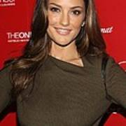 Minka Kelly At Arrivals For Esquire Poster by Everett