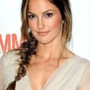 Minka Kelly At Arrivals For The Poster by Everett