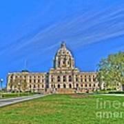 Minnesota State Capital Iv Poster