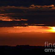 Minnesota Sunset 6 Poster