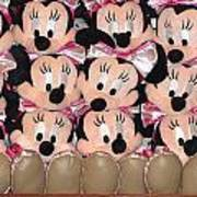 Minnie Mouse On A Shelf 2 Poster