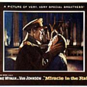 Miracle In The Rain, Van Johnson, Jane Poster