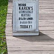 Miss Karen's Poster
