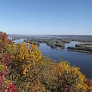 Mississippi River Fall Poster