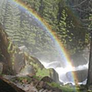 Mist Trail Rainbow Poster